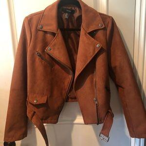 Forever 21 Suede Moto Jacket